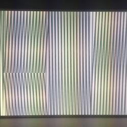 Carlos Cruz-Diez, Translucent Chromointerferent Environment, 1974/2009 Art Basel Unlimited 2018 © Starkandartcom