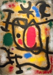 Joan Miró, Personnage et oiseau, 1965 © starkandart.com