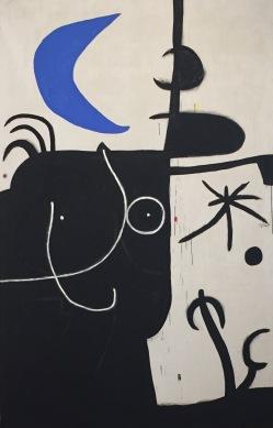 Joan Miró, Femme devant la lune II, 1974 © starkandart.com