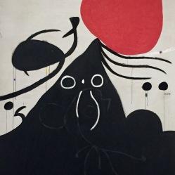 Joan Miró, Femme devant le soleil I, 1974 © starkandart.com