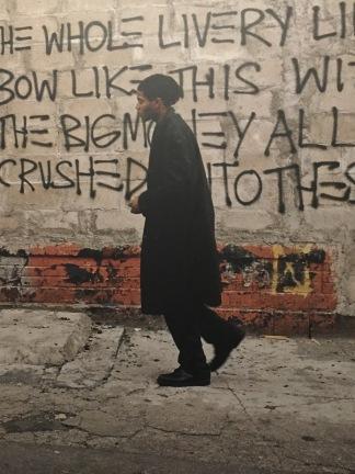 Ero Bertoglio, Basquiat am Set von Downtown 81 © Starkandart.com
