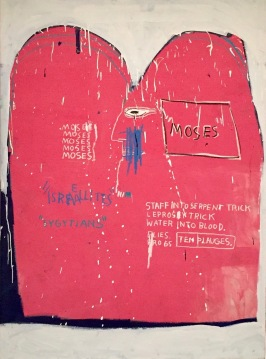Jean-Michel Basquiat, Moses and the Egyptians, 1982 - Guggenheim Bilbao © starkandart.com