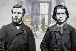Georges Clemenceau, li., und Claude Monet © Alle Rechte vorbehalten / Arte