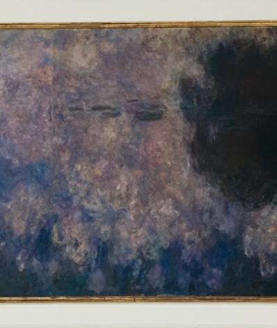 Impressionen aus der Orangerie, Paris. Versteckt sich hier das Porträt von Clemenceau © starkandart.com