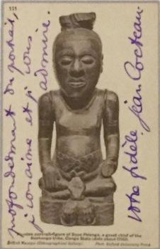 Postkarte von Jean Cocteau an Piscasso 10. September 1915, Musée National Picasso Paris © starkandart.com