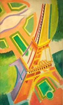 Robert Delaunay - Der Eiffelturm, 1924 - Saint Louis Art Museum © starkandart.com