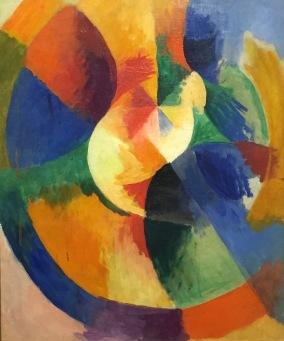 Robert Delaunay - Kreisformen. Sonne, 1912-1913 - Museum Folkwang, Essen © starkandart.com