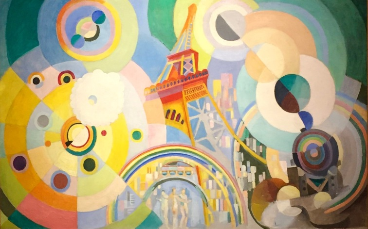 Robert Delaunay - Luft, Eisen, Wasser, 1937 - The Sam and Ayala Zacks Collection in The Israel Museum, Jerusalem, on permanent loan from the Art Gallery of Ontario © starkandart.com