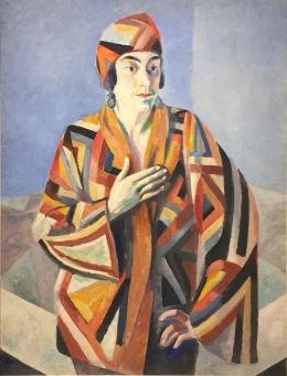 Robert Delaunay - Porträt Madame Mandel, 1923 - Privatsammlung © starkandart.com