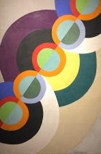 Robert Delaunay - Rhythmus, 1934 - Privatsammlung Zürich © starkandart.com